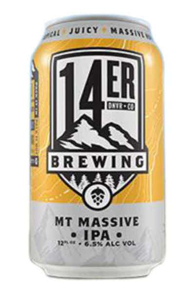 14 Er Brewing Mountain Massive IPA