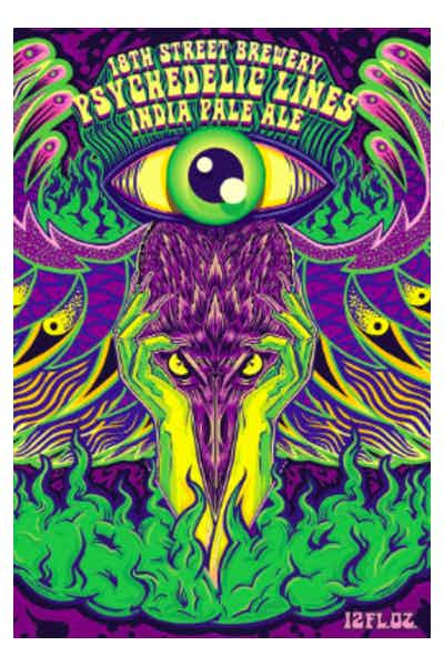 18th Street Psychedelic Lines IPA