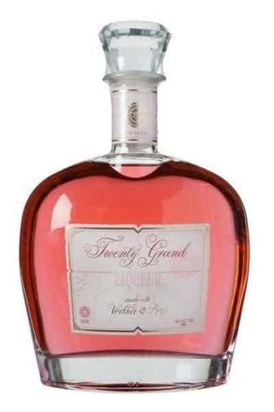 Twenty Grand Rose Infused Vodka