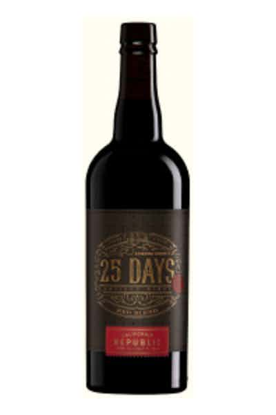 25 Days Sonoma County Red Blend