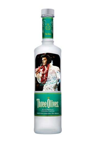 Three Olives Elvis Edition Coconut Water Vodka