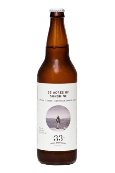 33 Acres of Sunshine Witbier
