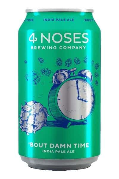 4 Noses Brewing Company 'Bout Damn Time IPA