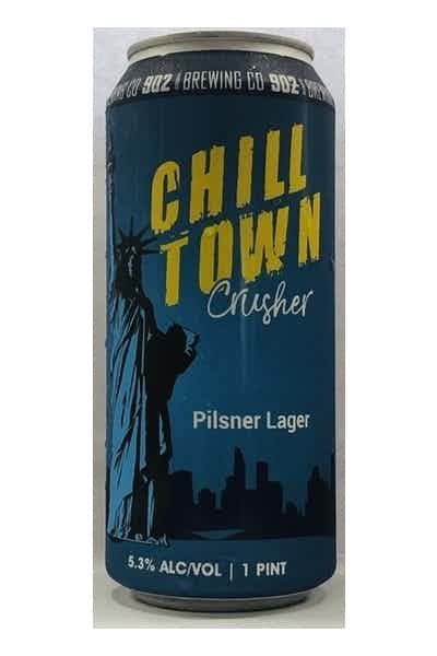 902 Brewing Co. Chilltown Crusher