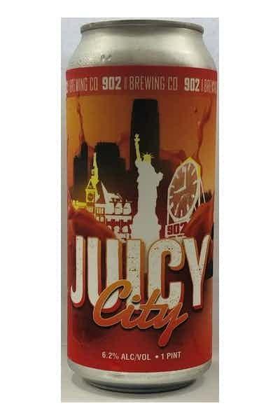 902 Brewing Co. Juicy City NEIPA