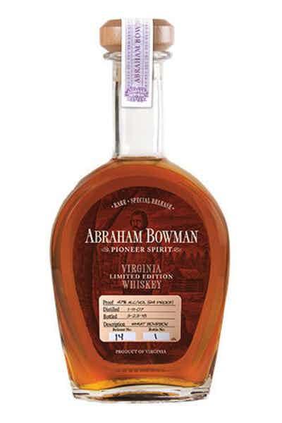 Abraham Bowman Wheat Bourbon