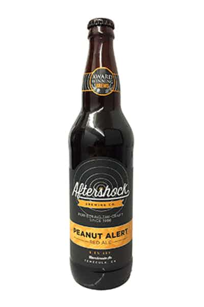 Aftershock Peanut Alert Red Ale