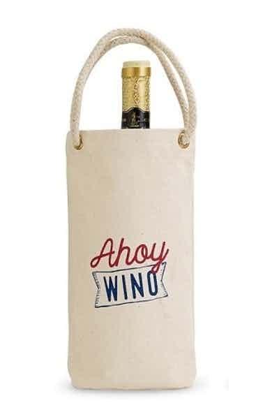 Ahoy Wino Canvas Wine Bag