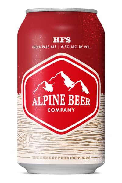 Alpine Beer Co.  HFS IPA