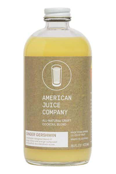 American Juice Co. The Ginger Gershwin