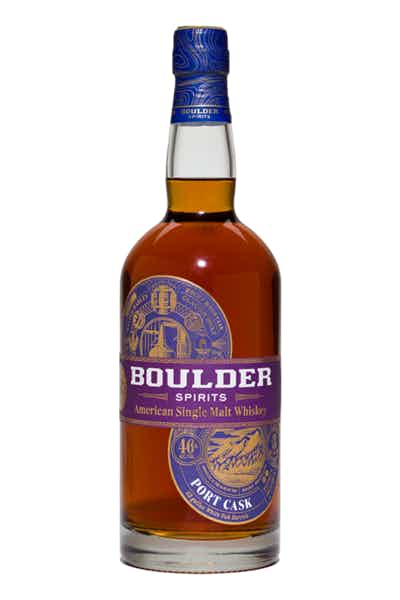 Boulder Spirits American Single Malt: Port Cask