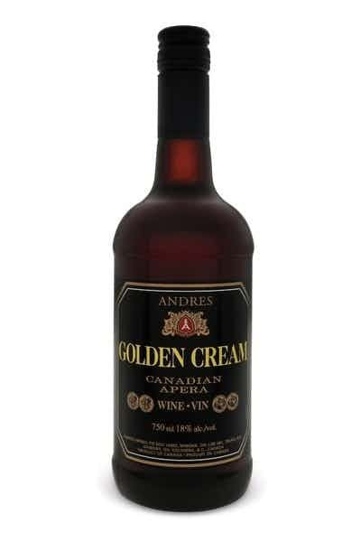 Andres Golden Cream Canadian Sherry