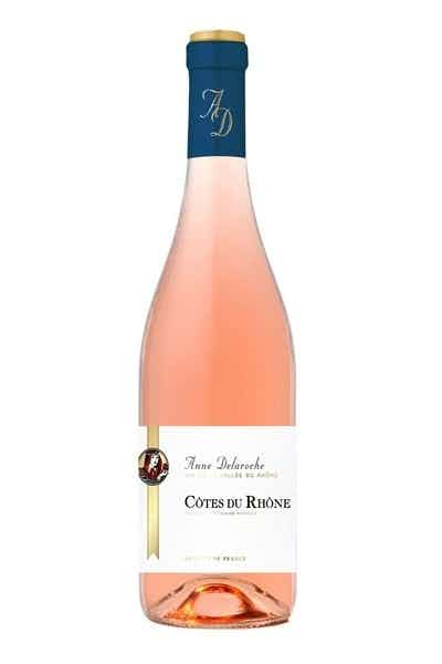Anne Delaroche Cotes Du Rhone Rose