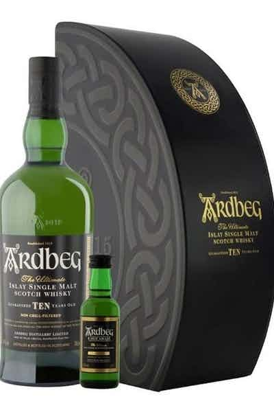 Ardbeg 10 Year Uigeadail Mini Gift Box