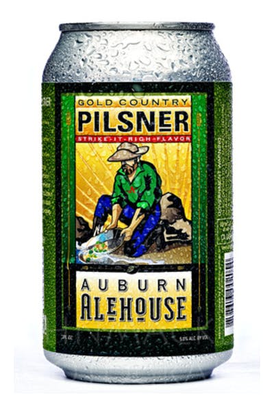 Auburn Alehouse Gold Country Pilsner