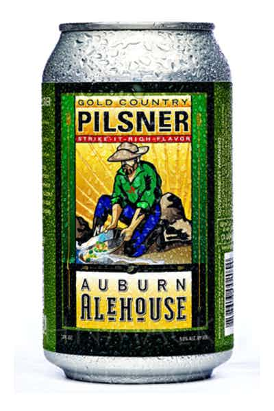 Auburn Alehouse Gold Country Pilsner