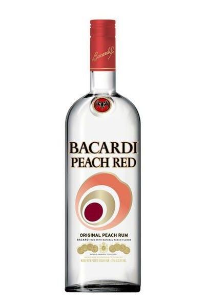 Bacardi Rum Peach Red