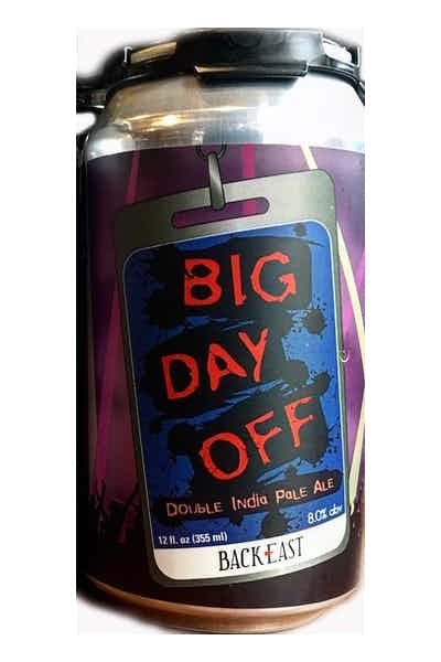 Back East Big Day Off DIPA