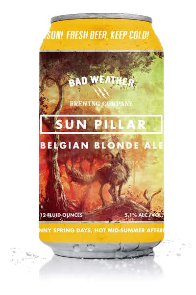 Bad Weather Sun Pillar Belgian Blonde Ale