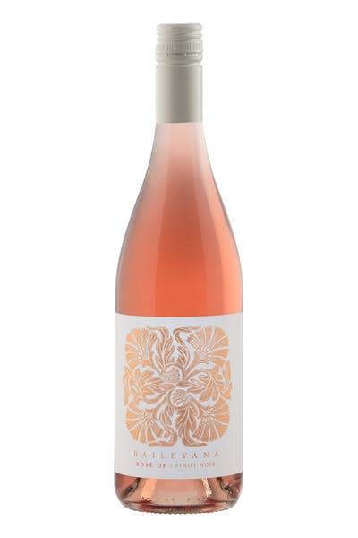 Baileyana Rosé of Pinot Noir
