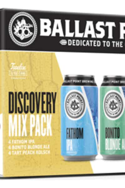 Ballast Point Discovery Mix Pack