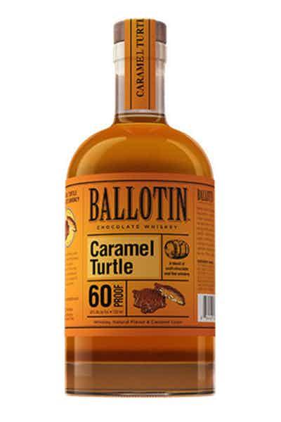 Ballotin Chocolate Caramel Turtle Whiskey