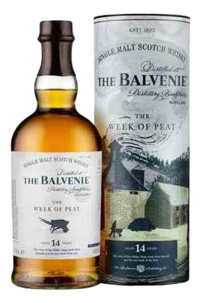 The Balvenie 14 Year Old Week of Peat Scotch Whisky