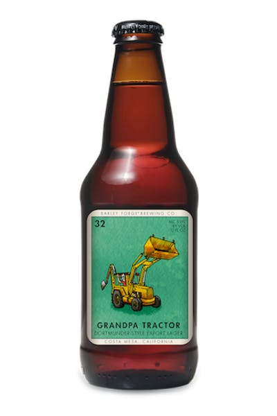 Barley Forge Grandpa Tractor Dortmunder Lager
