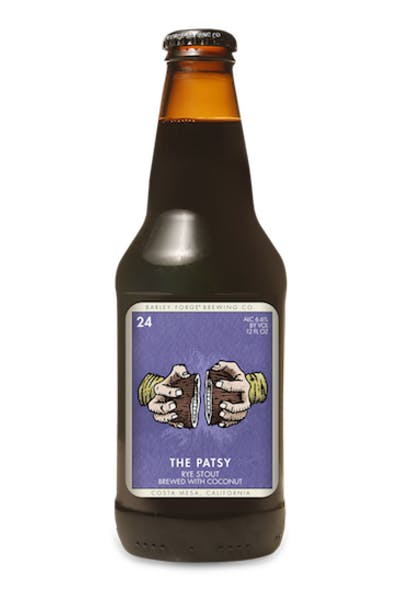 Barley Forge The Patsy Coconut Rye Stout