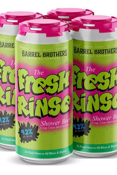 Barrel Brothers Fresh Rinse Lager