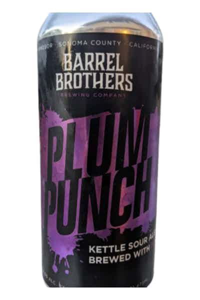 Barrel Brothers Plum Punch