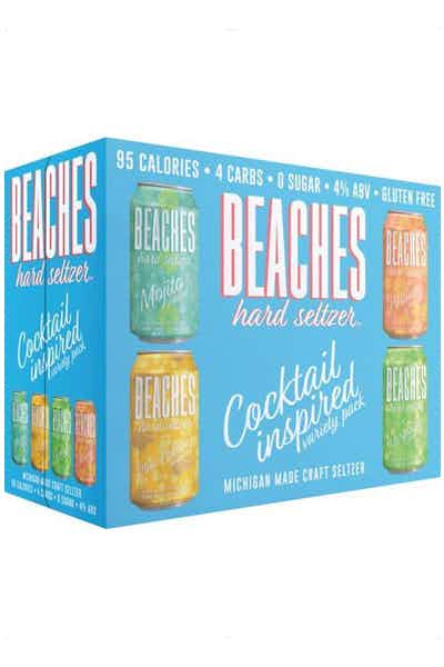 Beaches Hard Seltzer Cocktail Inspired Variety Pack