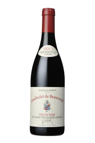 Beaucastel Coudoulet Rouge 2012