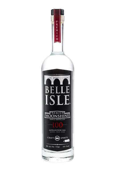 Belle Isle 100 Proof Moonshine