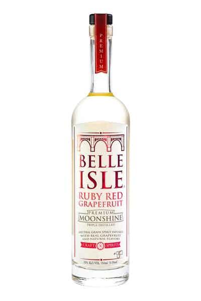 Belle Isle Ruby Red Grapefruit Moonshine