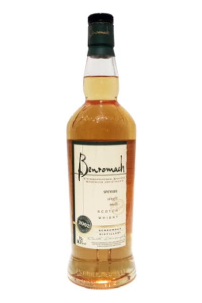 Benromach Cask Strength 2003