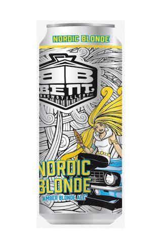Bent Brewstillery Nordic Blonde Ale