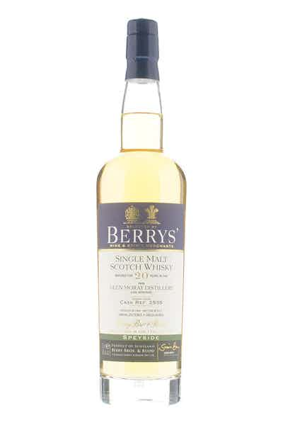 Berrys' Glen Moray 20yr