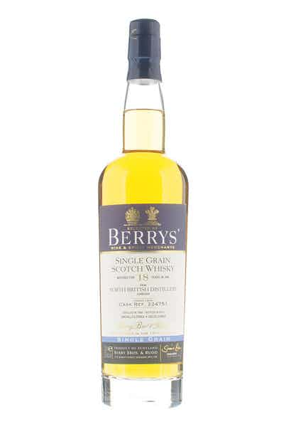 Berrys' North British Single Grain 18 Yr