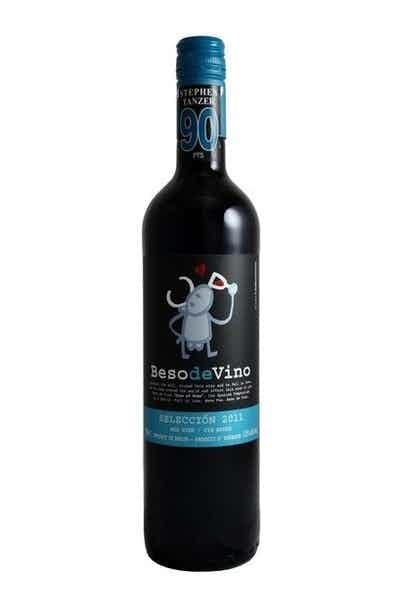 Beso de Vino Selección Syrah-Garnacha
