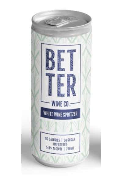 Better Wine Co. White Wine Spritzer