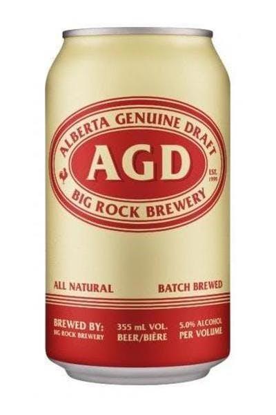 Big Rock Alberta Genuine Draft