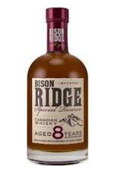Bison Ridge Special Reserve 8 Year Canadian Whiskey