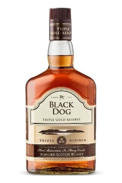Black Dog Triple Gold Reserve Whiskey