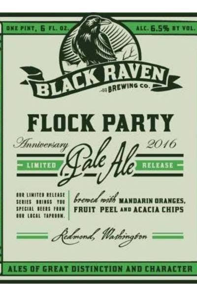 Black Raven Flock Party Pale Ale