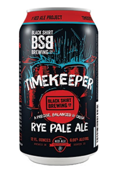Black Shirt Brewing Timekeeper Rye Pale Ale