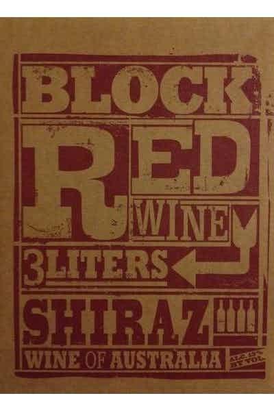 Block Red Shiraz