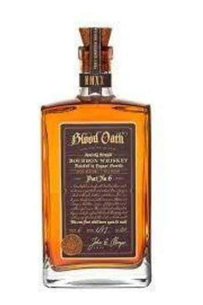 Blood Oath Kentucky Bourbon Pact No.6