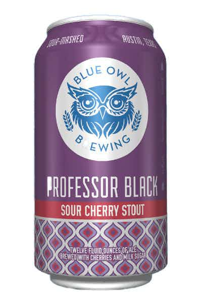 Blue Owl Brewing Professor Black