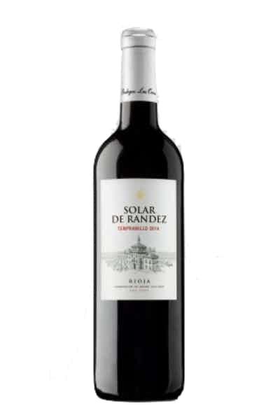 Bodegas Las Orcas Solar De Randez Rioja Tempranillo